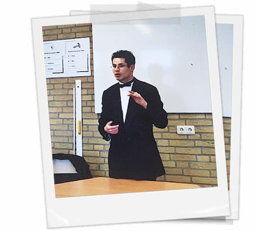 Biografie goochelaar Michael Divano 25 years old